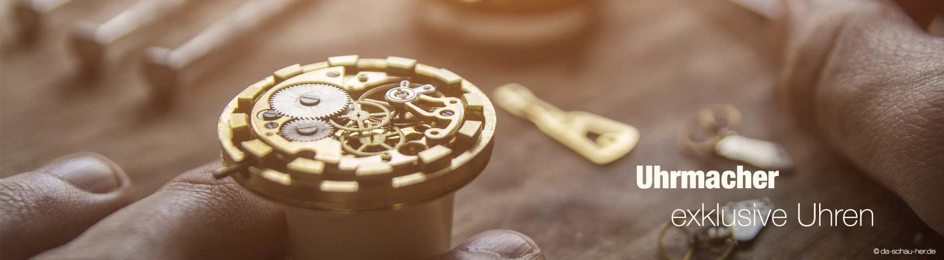 Uhrmacher in München Uhren Reparatur | da schau