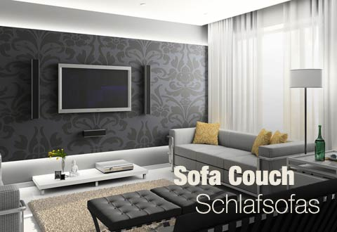 Sofa Couch Schlafsofa in Wesel