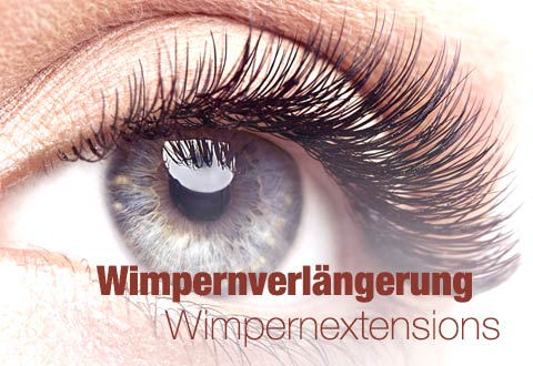 Wimpernverlaengerung Wimpernextensions in Hamburg