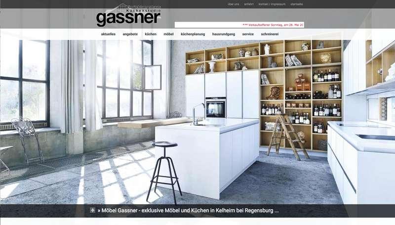 Gassner Gmbh Möbelhaus Und Küchenstudio In Kelheim