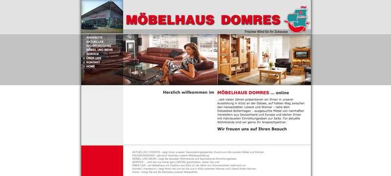 Möbelhaus Lübeck möbelhaus und küchenstudio in klütz möbelhaus domres in